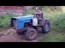 Самодельный трактор из Москвича
