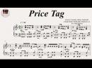 Price Tag - Jessie J feat B.o.B, Piano
