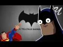 Бэтмен и Супермен(?) от TellTale Games