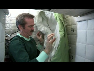 How Do Astronauts Sleep in Space? | CSA ISS Science HD Video