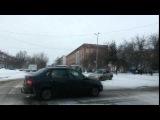 ДТП - Touareg - Chevrolet | Пр.Комсомольский-ул.Ленина