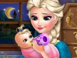 Холодное сердце ИГРА Эльза кормит ребенка! Супер игра для девочек онлайн БЕСПЛАТНО! Мультик!