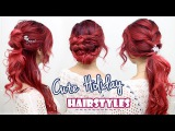 Cute Hairstyles for Special Occasions l Quick and Easy Holiday Hairstyles