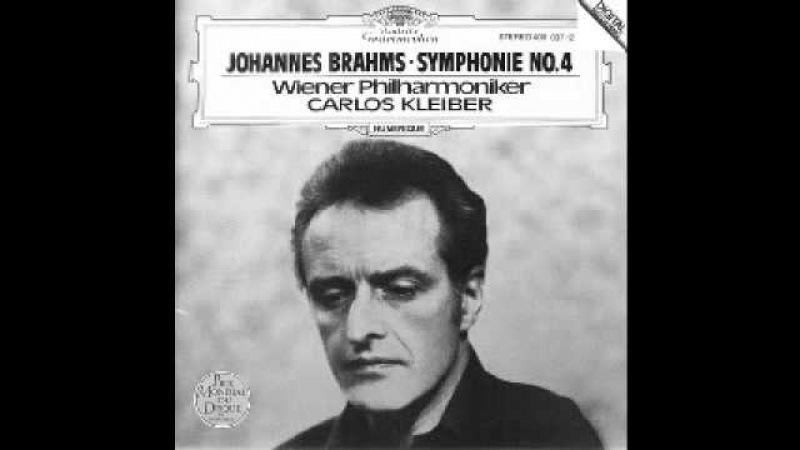Brahms - Symphony No. 4 (Carlos Kleiber / Wiener Philharmoniker)