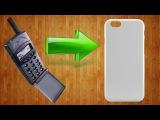 Как сделать силиконовый чехол/бампер для телефона своими руками/DIY silicone cell phone bumper case