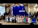 Детский хор Капельки. выступление на День матери. Песня Бабушка Полина.