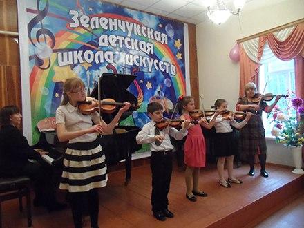 В станице Зеленчукской прошли отчетные концерты музыкальных отделений Детской Школы Искусств «Лира»