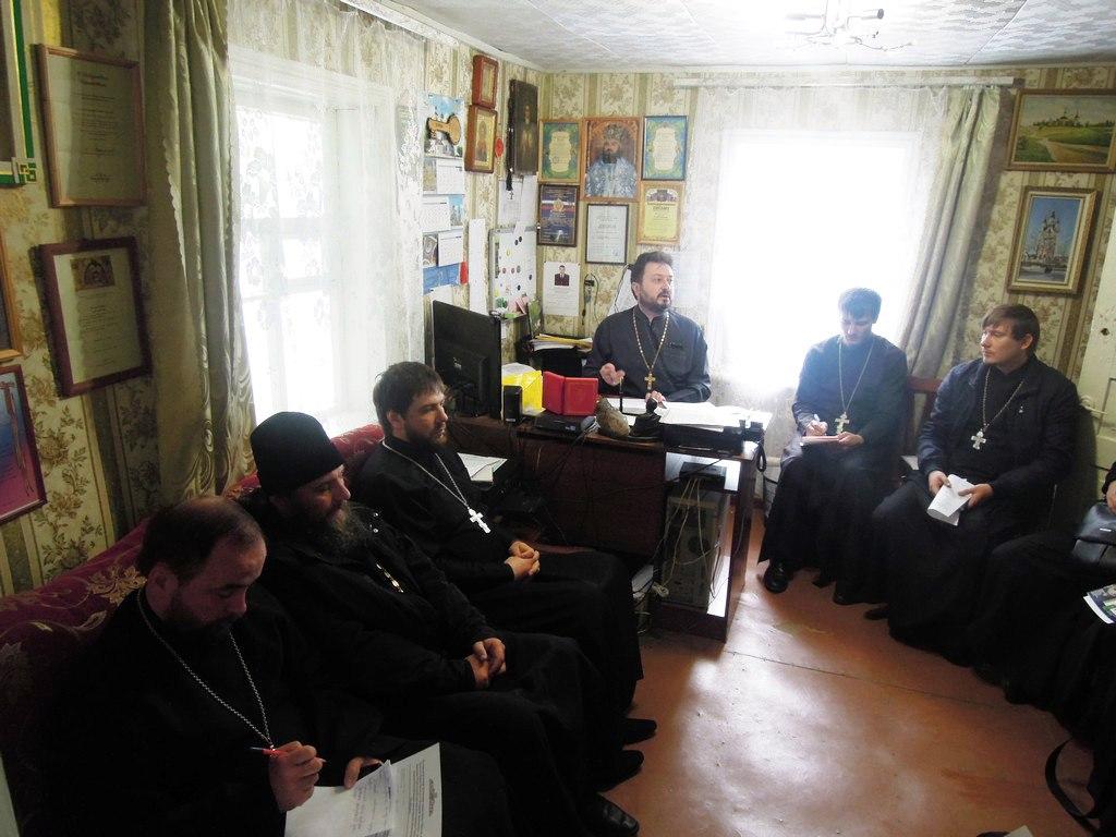 В станице Зеленчукской прошло собрание духовенства