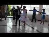Pierwszy taniec Karoliny i Sergieja