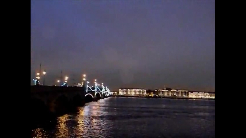 Троицкий мост | Дворцовая набережная, Эрмитаж | Петропавловская крепость