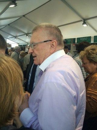 Лидер партии ЛДПР В.В. Жириновский