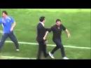 Gennaro Gattuso slaps his Head Coach AC Pise vs Spal