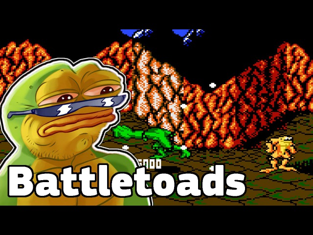 Приставочные игры 2 Battletoads.