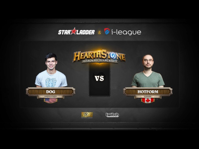 [RU] Dog vs Hotform | SL i-League StarSeries | Group Stage