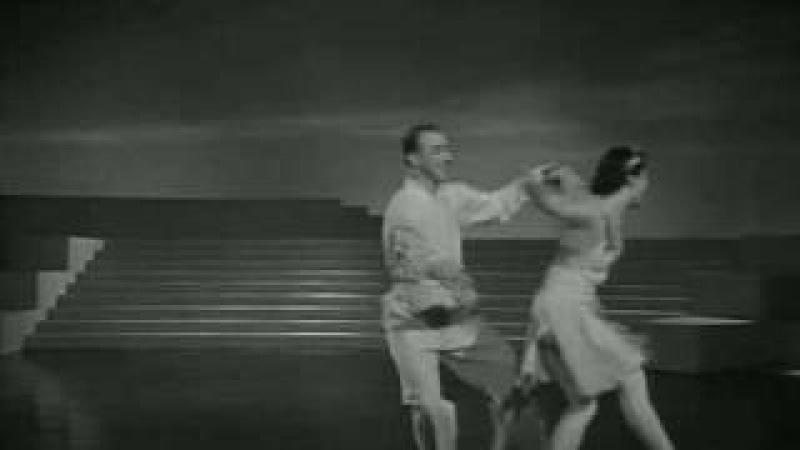 Ольга Лепешинская и Пётр Гусев - Вальс Мошковского, 1940