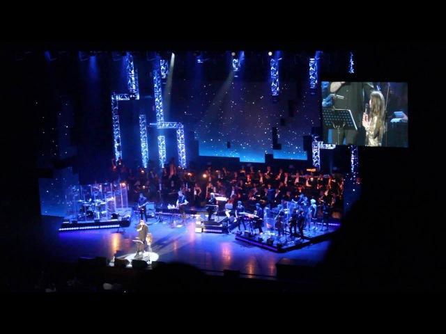 Баста Колыбельная ft Мария Вакуленко Кремль 18 04 2016 Баста спел с дочкой