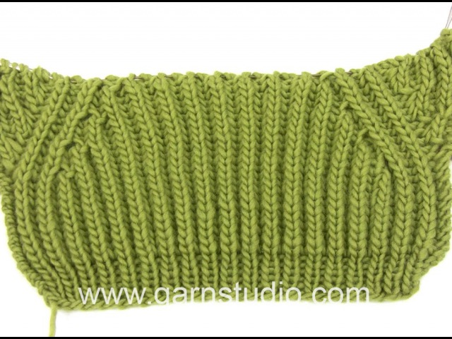 How to knit the false raglan in DROPS Extra 0 898
