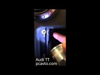 Трудовые будни PCavto. Серия 28. Audi TT. Техноты установки штатной магнитолы из китая