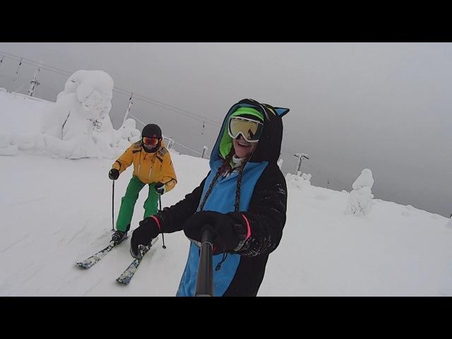 В Финку. Часть 11. На лыжах в Салле и гоу хом