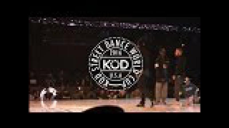 K.O.D. World Cup 2016 Final Hip Hop KOREA/FRANCE - Les Twins, Waydi, Boubou - Criminalz Crew
