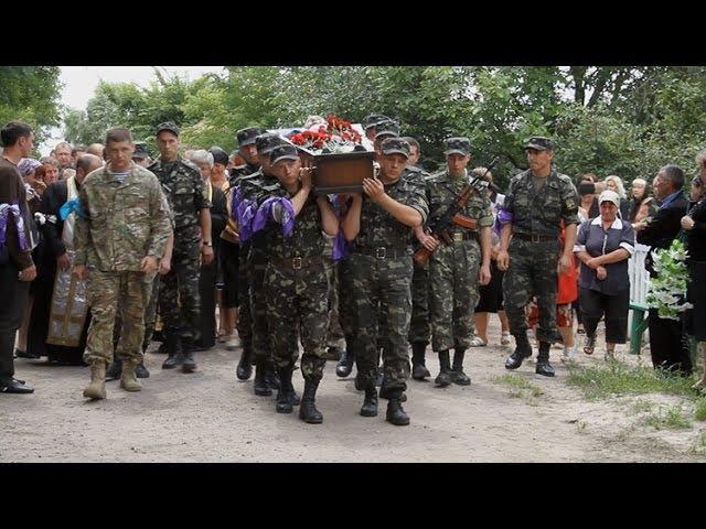 На Житомирщині прощалися із 22-річним загиблим десантником - Житомир.info