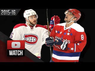 Montreal Canadiens vs Washington Capitals. February 24, 2016. Highlights. (HD)
