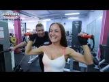 Фитнес тренировки. Тренировка плеч для девушек.