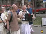 Harinama in Barnaul with Jayadev prabhu