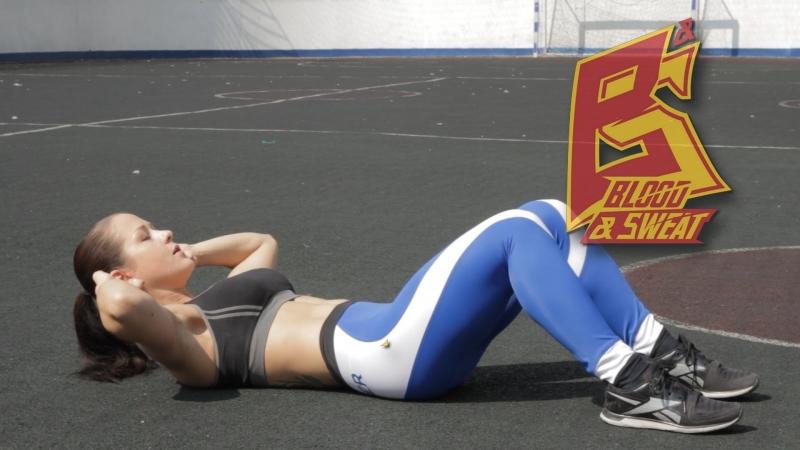 Упражнения на пресс без травм спины и шеи. Нина Самсонова