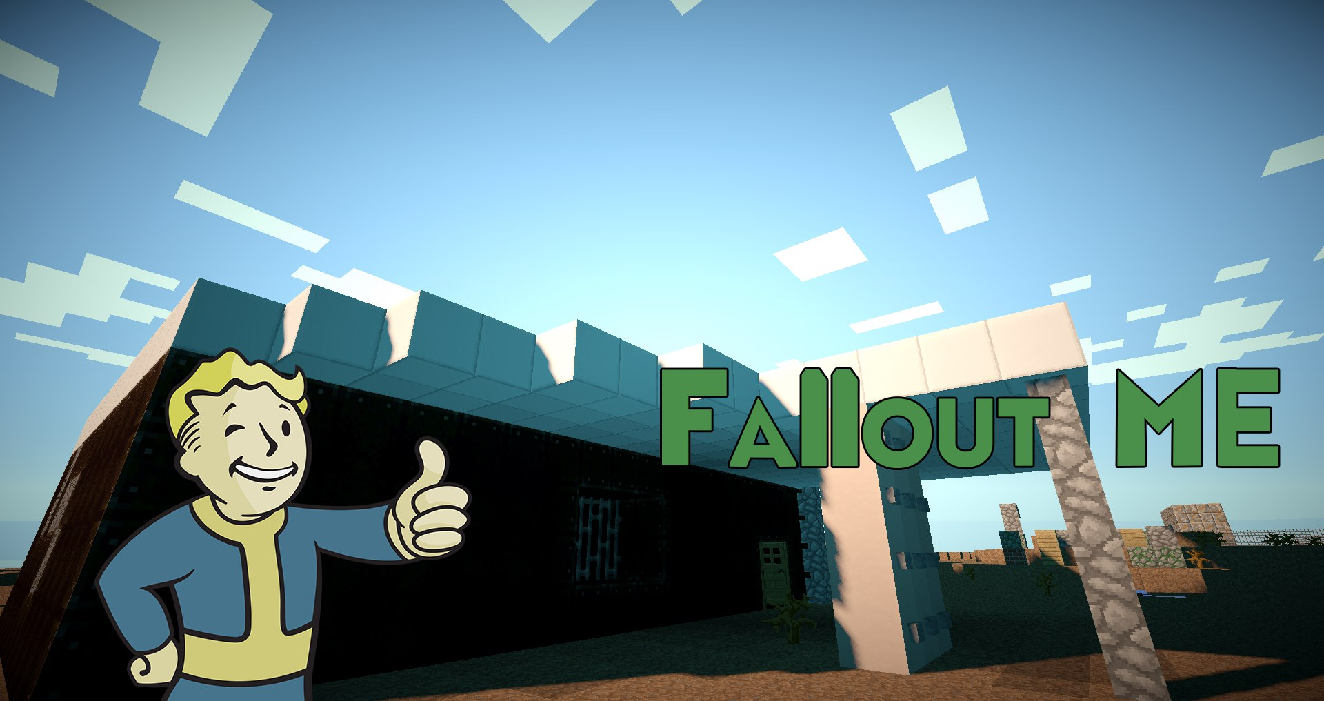 [Map][1.7.10] Fallout:Minecraft edition 0.4