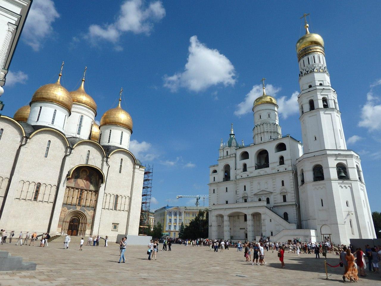 Соборная площадь москва фото