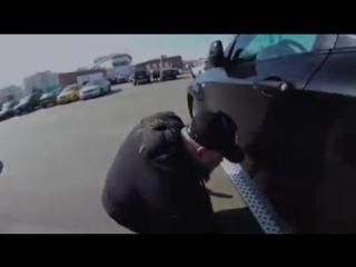 Как угоняют авто