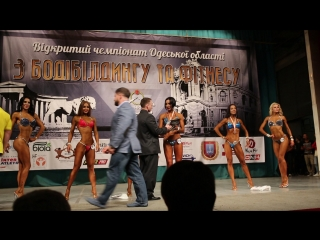 Одесса 11 апреля 2016.Награждения финалисток свыше 169см.