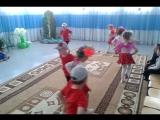 Танец 《Цветы и бабочки》, средняя группа