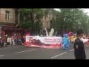 Колонна АНИМЕ38 на шествие в день города 2016 Иркутск