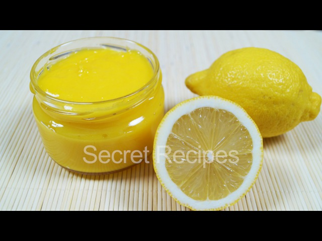 Идеальный лимонный курд   Заварной лимонный крем