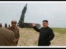 KCTV (주체조선의 국방력 일대 과시,지상대지상중장거리 전략탄도로케트《화&#49