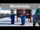 Mario, Luigi and Friends Visit Whistler Blackcomb