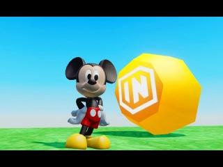 Детский мультик игра Мики Маус и гонки тачки для мальчиков