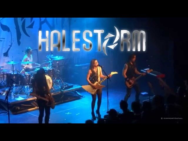 HALESTORM -LIVE- GET LUCKY, HD SOUND Cologne @ Stollwerck,13 04 2014