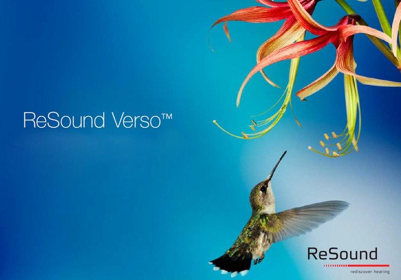 Для мобильных и динамичных, успешных и активных людей, которые не привыкли сидеть на месте, и чья жизнь полна событий и ярких впечатлений, представляем новейшие модели цифровых слуховых аппаратов линейки ReSound Verso™