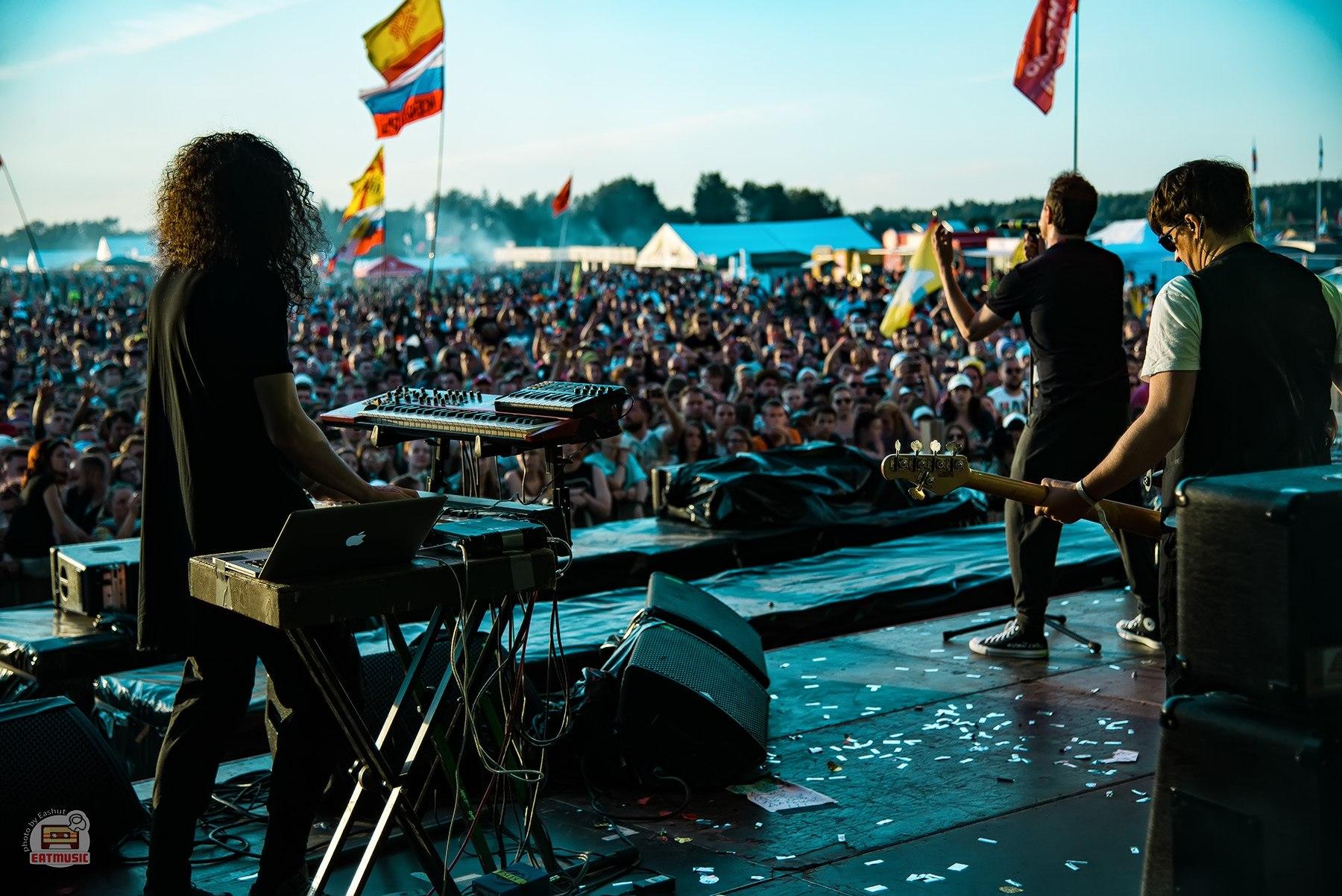 Группа Animal ДжаZ на фестивале НАШЕСТВИЕ 2016