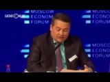 Посмотрите выступление главы Чкаловского сельского поселения, сорвавшего в среду овации на Московском экономическом форуме.