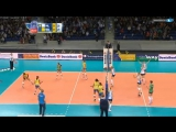Leg 1: Top 5 Most Amazing Rallies Volleyball