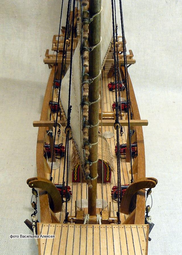Китайская джонка (Amati Масштаб 1:100) 6N971IBtKMc