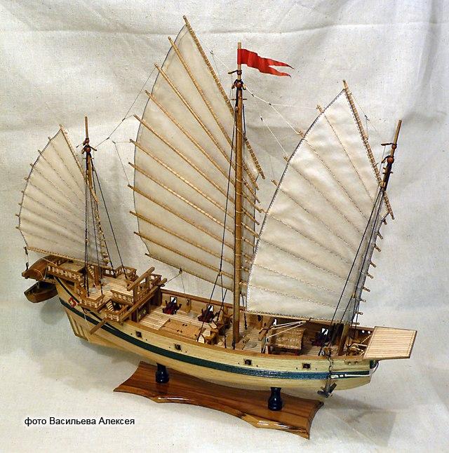 Китайская джонка (Amati Масштаб 1:100) BQ6K8Akn0A8