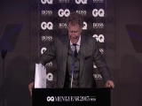 Уилл Феррелл плачет на церемонии награждения GQ | Will Ferrell | Здравствуй папа Новый год!
