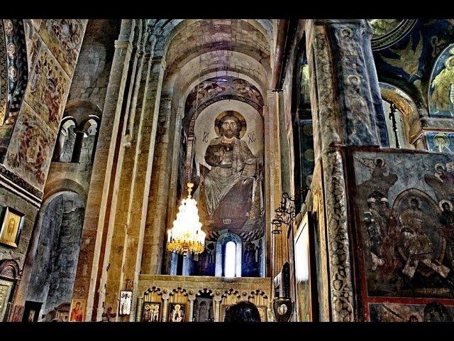 молитва на грузинском языке - хор монастыря Зарзма