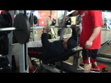 Chest Training With Mike Dragna 12 Weeks Out Fom New York Pro
