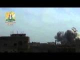 Syria-War_Video /.Авиаудары по укрытиям террористов ИГИЛ! Провинция Хомс /